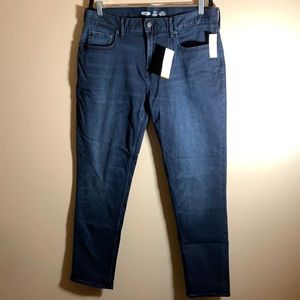 Old Navy Blue Relaxed Slim Jeans NWT